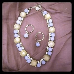 White House Black Market necklace and earrings
